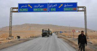 الجيش السوري يعلن تأمين طريق دير الزور