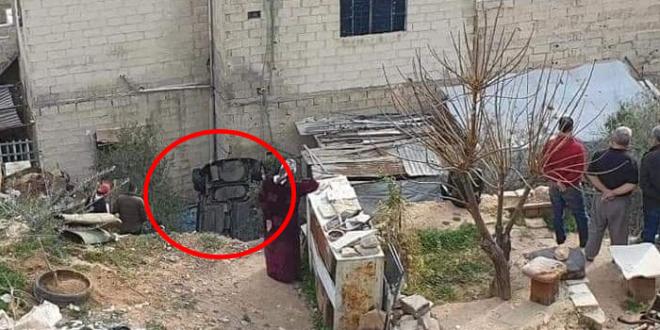 سقوط سيارة في وادي بمنطقة ركن الدين في دمشق.. والأهالي يطالبون ببناء سور