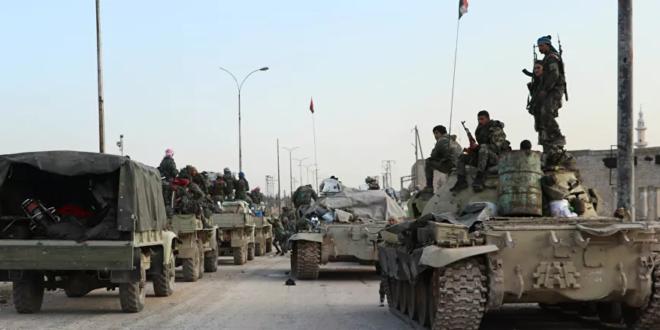 Screenshot 2021 01 23 بينها دبابات تي 72 الجيش السوري يحشد قوات مدرعة جنوبا