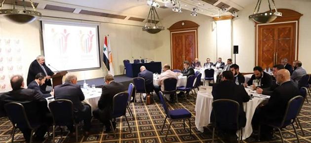 الإعلان عن مؤتمر رجال أعمال أوروبي سوري