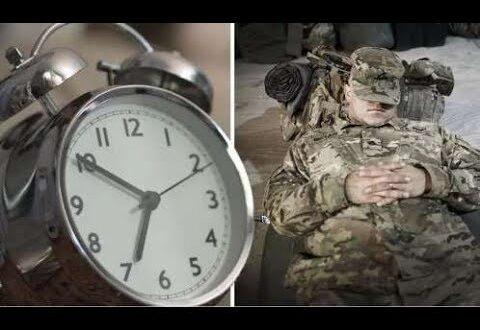 طريقة يستخدمها الجيش الأميركي للنوم خلال دقيقتين فقط!