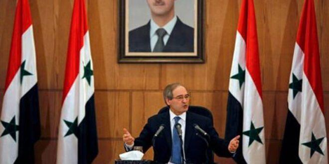 اللجنة الدستورية السورية وخلفيات العقوبات على المقداد