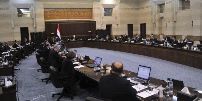 الحكومة في جلستها الأولى لعام 2021.. تطوير أداء الوزارات… ومعالجة الخلل في حال ظهوره..!!