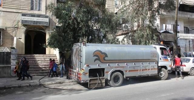 إطلاق خدمة الرسائل النصية القصيرة لتوزيع مادة مازوت التدفئة في محافظتي دمشق وريفها