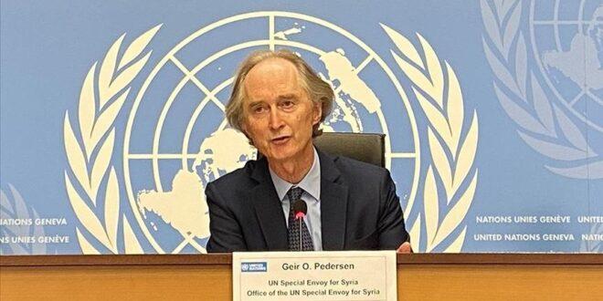 """بيدرسون يحذر من انهيار """"الهدوء الهش"""" في سوريا في أية لحظة"""