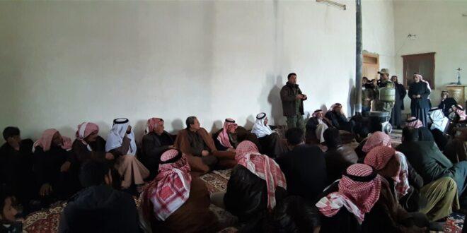 بوجهك يالشيخ.. العبارة التي تمنح الدخيل حصانة بالجزيرة السورية
