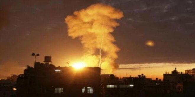 إصابة مسؤول اعلامي بدمشق ببقايا صواريخ العدوان الاسرائيلي ليلة أمس