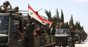 الجيش السوري يحشد قواته في ريف حلب الشرقي