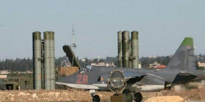 الدفاعات الجوية الروسية تتصدى لهجوم صاروخي على قاعدة حميميم