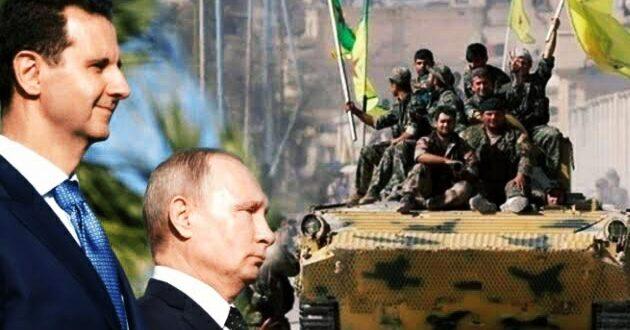 """بوساطة روسية.. وفد من """"قسد والإدارة الذاتية"""" في دمشق"""