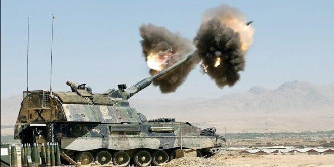 المدفعية التركية تقصف قرى في ريف حلب الشمالي
