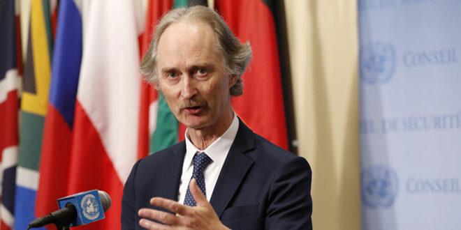بيدرسون: محادثاتي في دمشق ستركز على تنفيذ قرار وقف إطلاق النار في سوريا