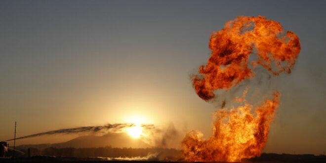 توقف العمل بأنبوب لنقل الغاز الطبيعي شرقي سوريا بعد استهداف مجهول له ... فيديو
