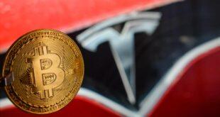 تيسلا حققت أرباحًا بنحو مليار دولار من استثماراتها في بيتكوين