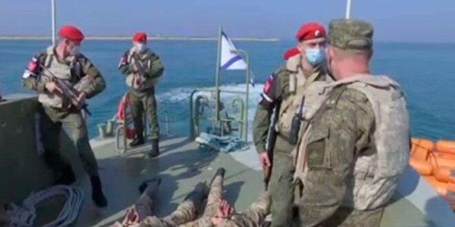 قوات روسية تتدرب على صد هجمات ضد قواعد حميميم وطرطوس