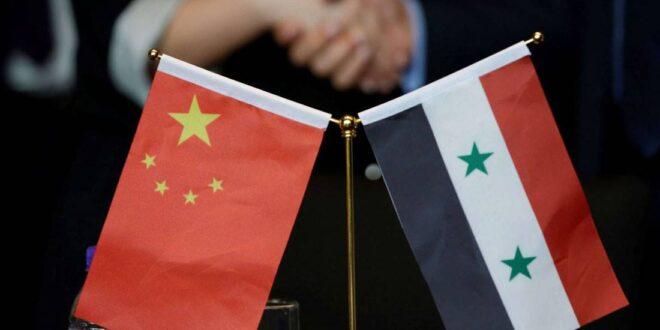 هدية قيمة من الصين لسوريا