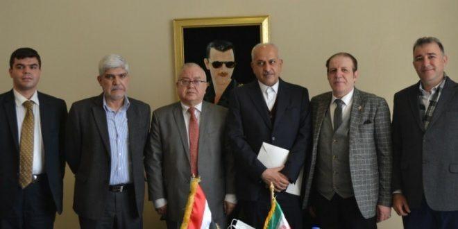 البيان الختامي للاجتماع المشترك لمجلسي إدارة غرفة التجارة السورية الإيرانية المشتركة