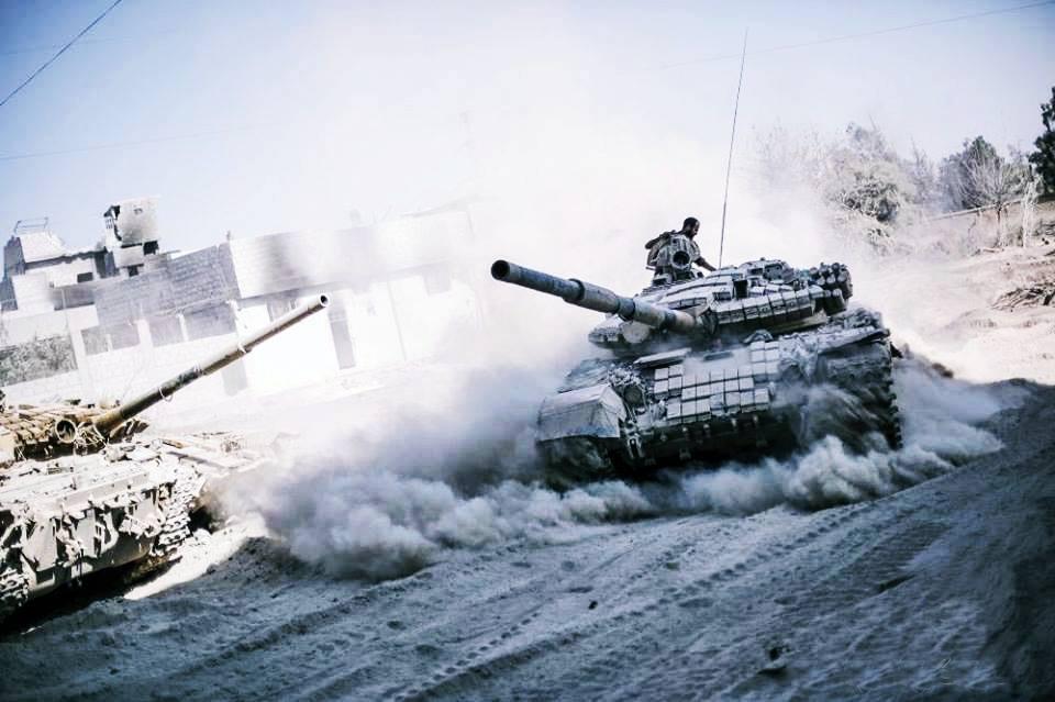 الدفاع الروسية: قدمنا تدريبات عسكرية لقوات الدبابات السورية في حلب