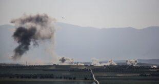 ثلاث غارات للطائرات الروسية على هدف استراتيجي ثمين في إدلب