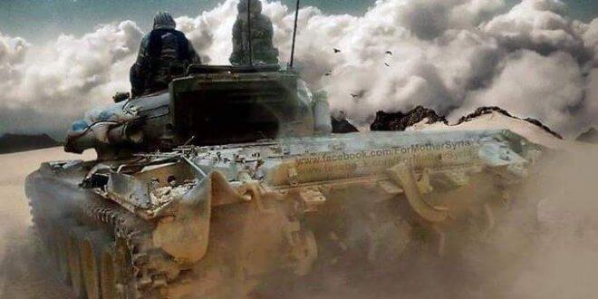 تعزيزات للجيش السوري الى إلى عين عيسى