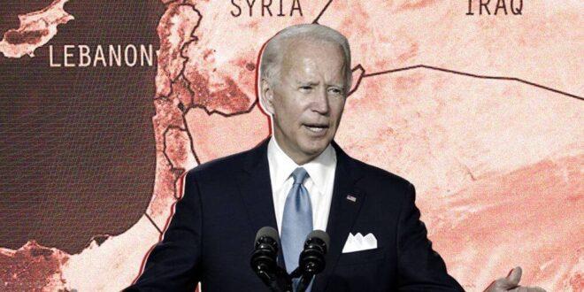 بايدن يناقض نفسه في سوريا
