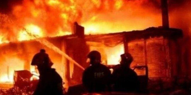حريق بسبب ماس كهربائي يهز اللاذقية ويودي بحياة 3 أطفال أثناء نومهم!