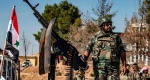 تكتيك جديد للجيش السوري في البادية
