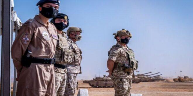 الاردن ينشر قوات نوعية بمساندة جوية على حدوده مع سوريا والعراق