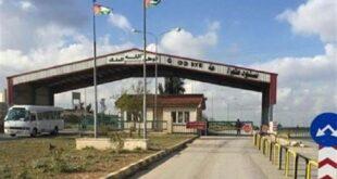 ترتيبات سورية أردنية لإعادة التجارة بين البلدين