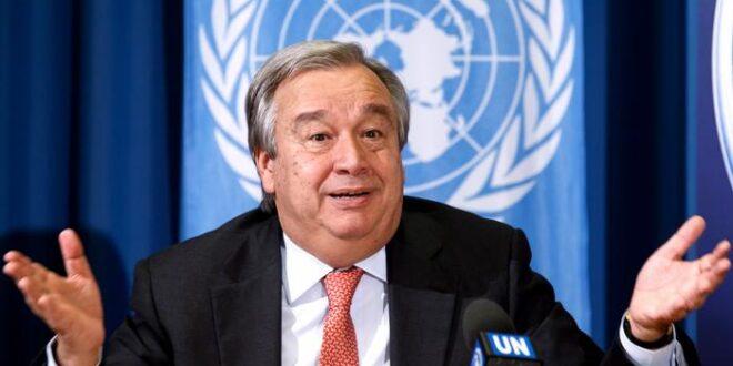 أمين عام الأمم المتحدة يطالب بإخراج 31 ألف طفل أجنبي من سوريا