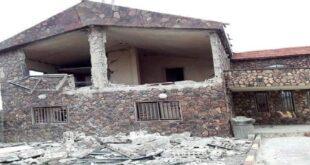 سقوط صاروخ على منزل في السويداء السورية في الاستهدافات الإسرائيلية