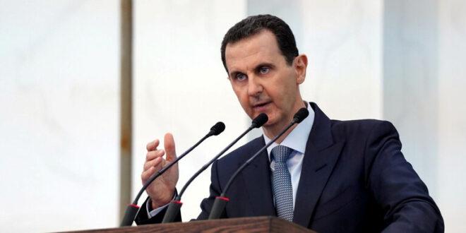 الرئيس الأسد يبحث مع كبير مساعدي وزير الخارجية الإيراني العلاقات بين البلدين وعمل اللجنة الدستورية