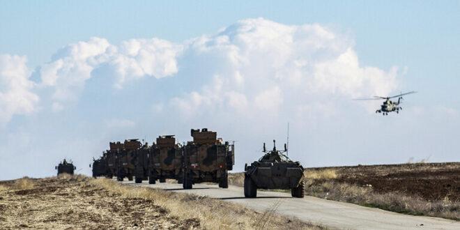 تدريبات مشتركة للعسكريين الروس والأتراك في إدلب بسوريا