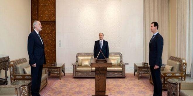 الجعفري يؤدي اليمين نائبا لوزير خارجية سوريا