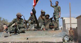 الجيش السوري يقضي على وكر للمسلحين في حمص بمساندة جوية روسية