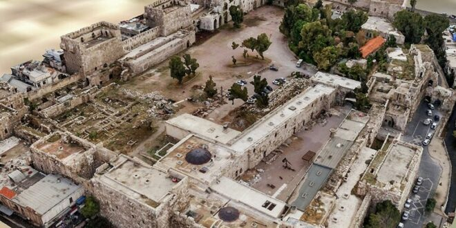 علماء الآثار الروس يبتكرون نموذجا ثلاثي الأبعاد لقلعة دمشق