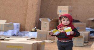 في عام واحد 60% من السوريين يعانون انعدام الأمن الغذائي