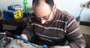مهندس يوفر الملايين على شركة كهرباء حماة (صور)