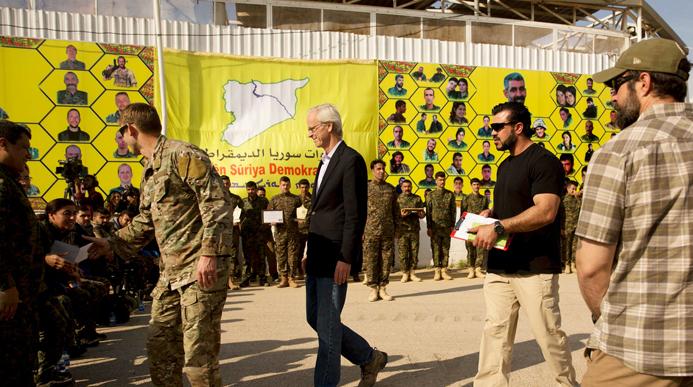 ادارة بايدن تنهي الجدل حول الانسحاب من سوريا