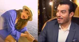 """زوجة إيهاب توفيق فنانة لبنانية معتزلة تزوجت 3 مرات.. وحوكمت بتهمة """"التعاون مع العدو"""""""