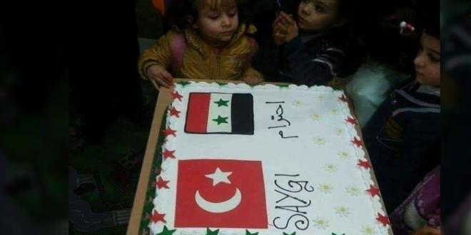 ضجة في شمال سوريا بعد ظهور العلم السوري على شحنة مساعدات تركية