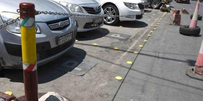 محافظة دمشق.. إزالة اشغالات حجز مواقف مخالفة للسيارات في المزة