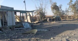 شاهد موقع الغارات الأمريكية على الحدود السورية العراقية