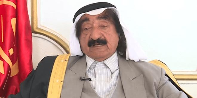 زعيم عشيرة شمر: لسنا مرتزقة ولا نتلقى دعماً من أحد