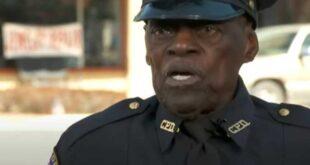 بالفيديو.. شرطي أمريكي عمره 91 عاما ولا يخطط للتقاعد