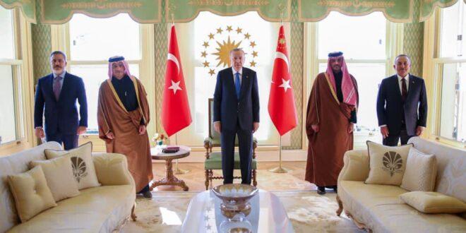 اجتماع تركي - قطري مغلق حول سوريا