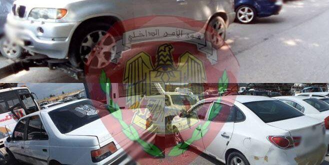 استرداد 4 سيارات مسروقة وضبط العديد من السيارات بلوحات مزورة في اللاذقية