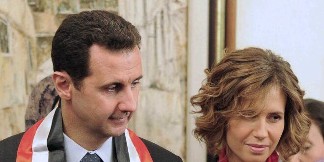 اصابة الرئيس الأسد وعقيلته بفيروس كورونا
