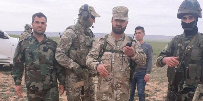 الإعلام الروسي ينشر صورًا جديدة للعميد سهيل الحسن مع قوات خاصة روسية