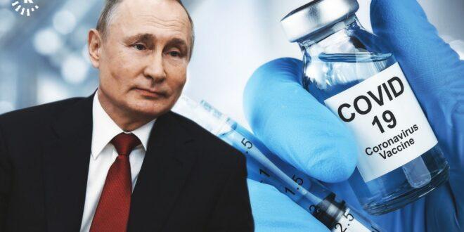 بوتين يكشف سبب عدم حصوله على اللقاح أمام الكاميرا والصحفيين